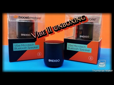 VIBE II Bluetooth speaker exclusive at  boost mobile