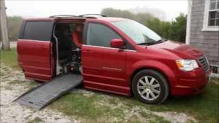 Ross' wheelchair accessible minivan demo and Permobil Permolock thumbnail