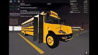 Tour Of My EDS Roblox Bus 3-18