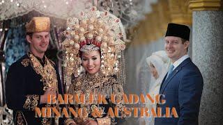 Wedding Minang dengan Australia