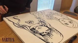 042___モーニング・ツー(4 April号)対談企画ー多田由美氏×寺田克也氏「描くということ」