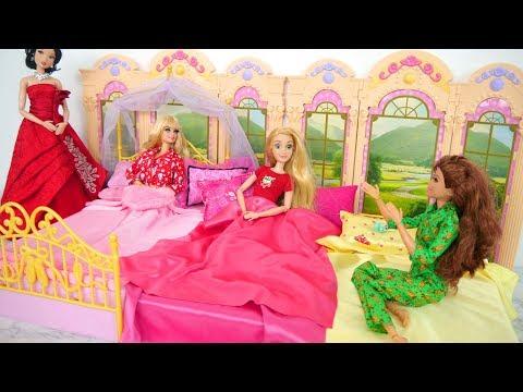 Princess Pajamas for Barbie dolls New Dresses Pijama princesa Pyjama princesse