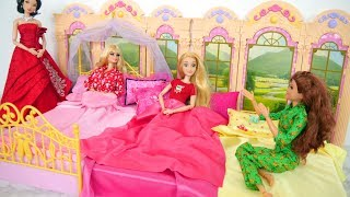 Princess Pajamas for Barbie dolls New Dresses Pijama princesa Pyjama princesse الأميرة منامة