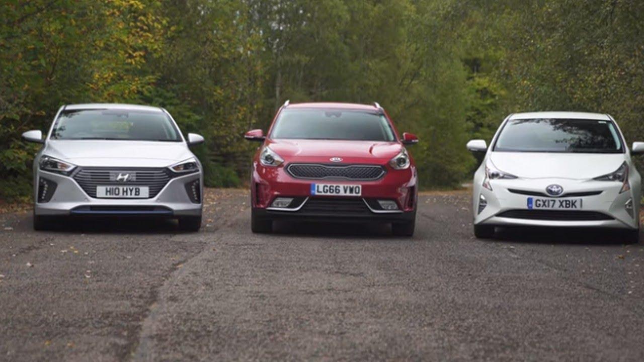 Toyota Prius Vs Hyundai Ioniq And Kia Niro In Battle Of The Hybrids