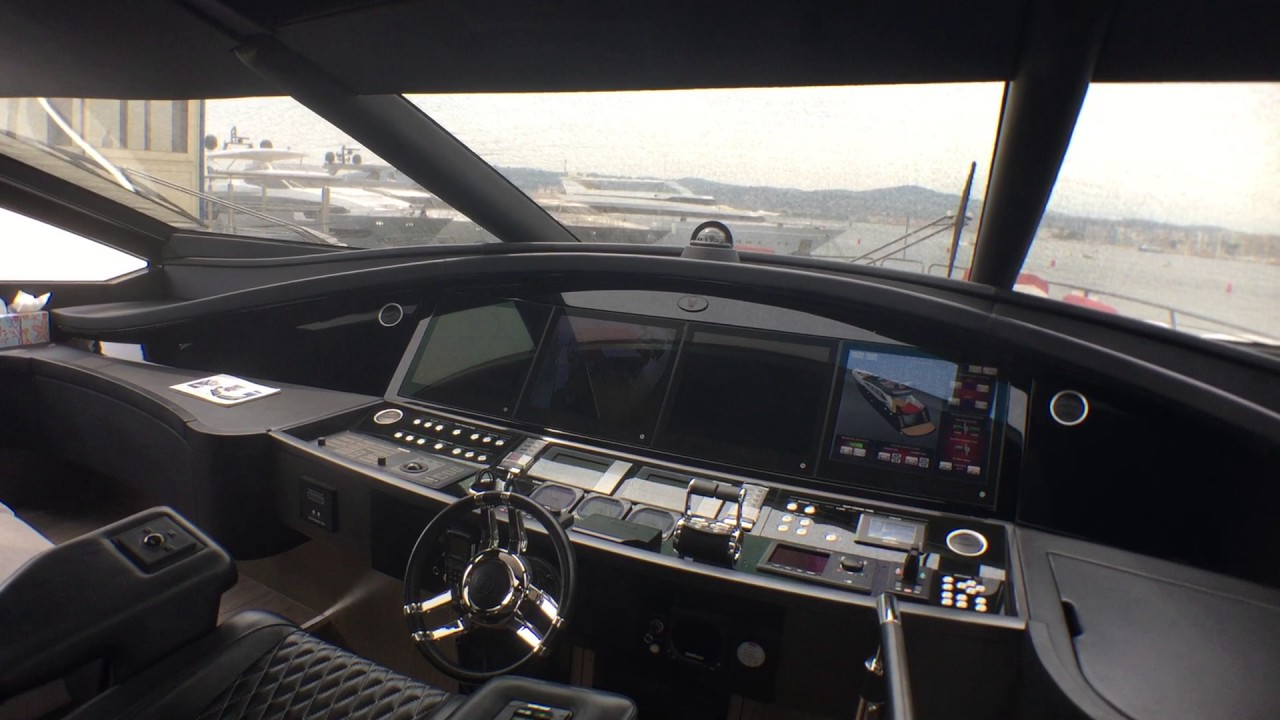 Sunseeker Sport Yacht 101 Black Legend Visit Part 1 Youtube