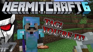 Hermitcraft VI - TAG! You're it! & Trident Shop - Let's play Minecraft 1.13 - Episode 7