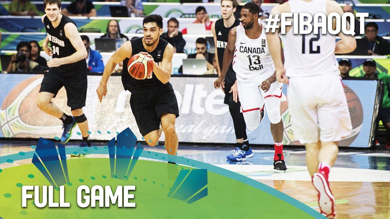 Canada v New Zealand - Full Game