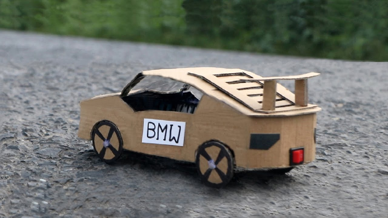 how to make an electric lamborghini toy car bmw m6 diy cardboard car amazing bmw car. Black Bedroom Furniture Sets. Home Design Ideas