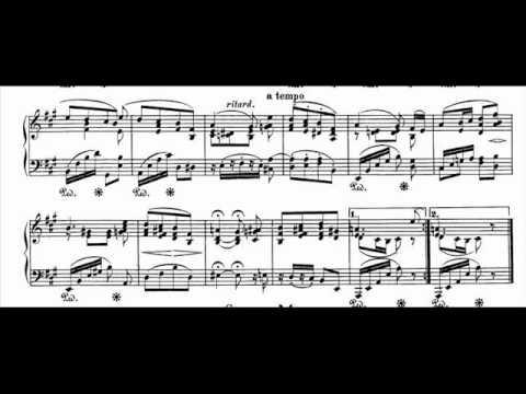 Jörg Demus plays Schumann Album für die Jugend Op.68 - 28. Erinnerung (4 November 1847)