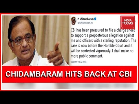 Chidambaram Says CBI Pressured To File Chargesheet In Aircel - Maxis Case