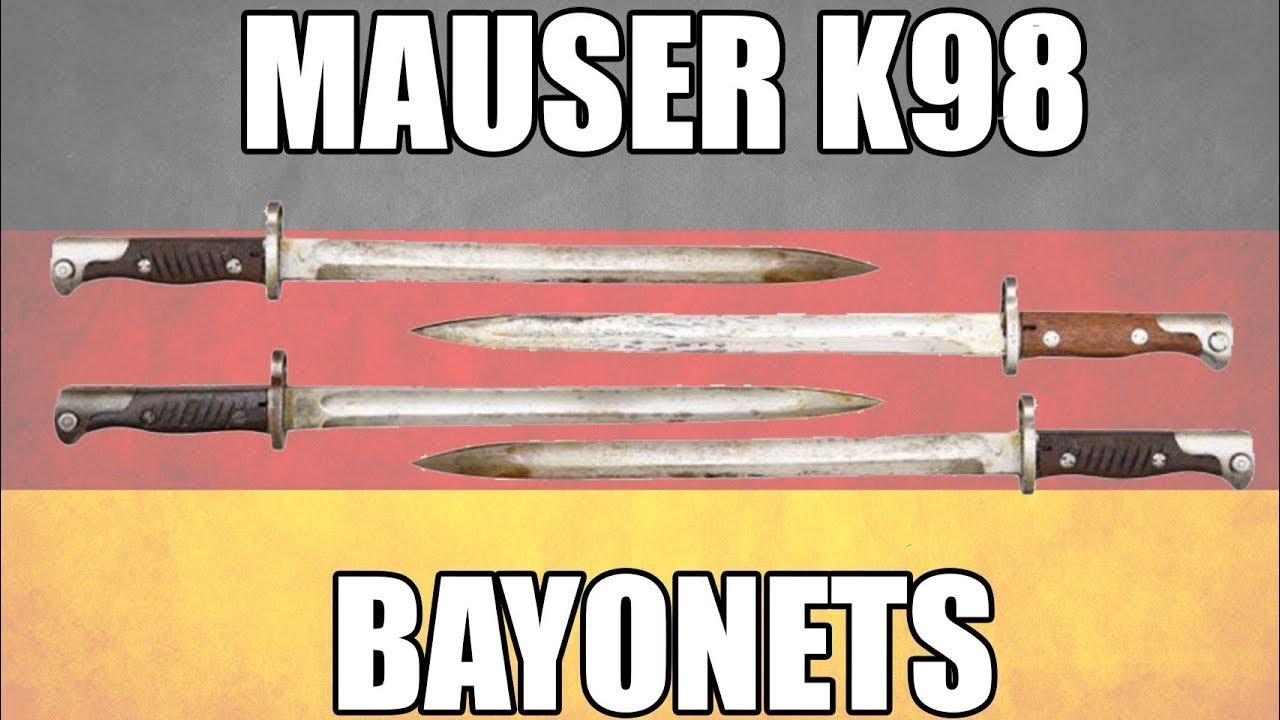 Video: Back In Stock - German Mauser K98 Bayonets With Scabbard