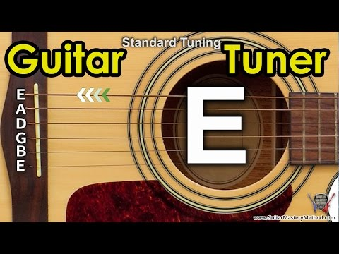 Guitar Tuner - Tune Standard Guitar Online - E A D G B E