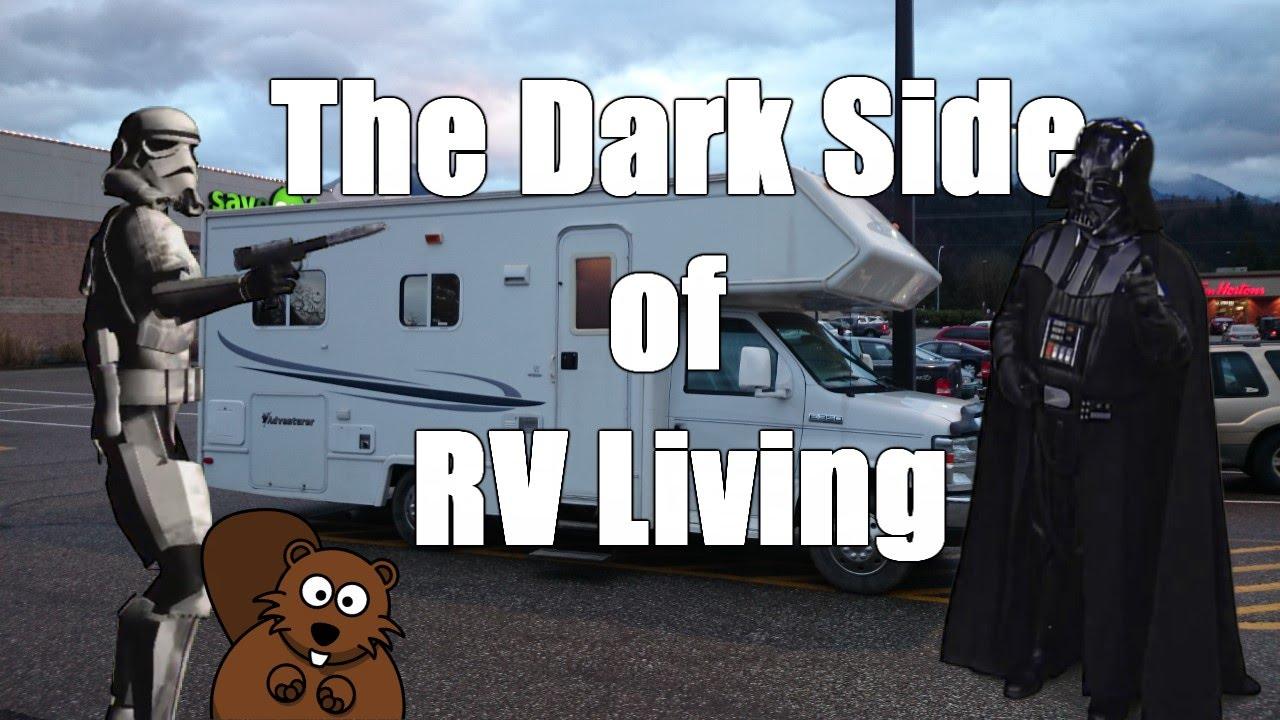 The dark side of living full time in an rv viyoutube for Minimalist living in an rv