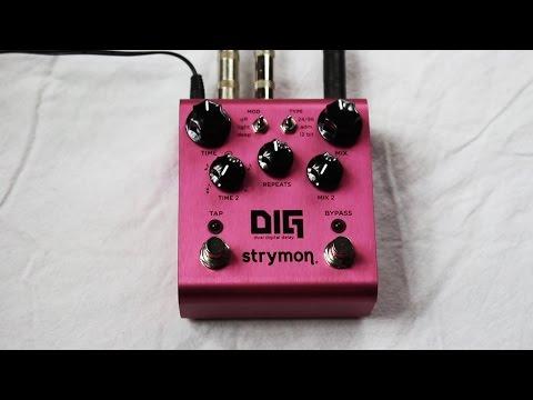 Strymon DIG Dual Digital Delay - in Depth Demo