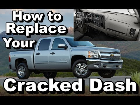 Cracked Dash? Dash Replacement On 2008-2013 Silverado Or GMC Sierra
