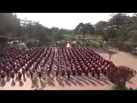 """Đồng diễn Nhảy dân vũ """"Trống cơm"""" - Trường Tiểu học Kim Sơn"""