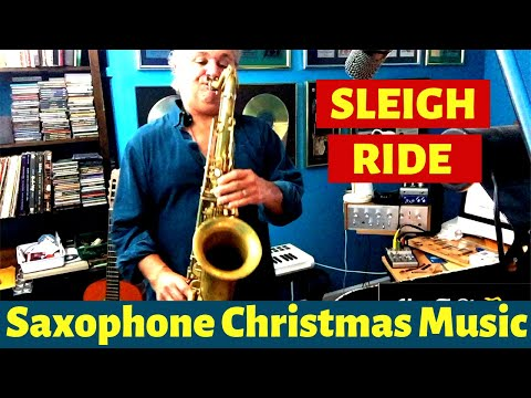 Sleigh Ride Saxophone Music
