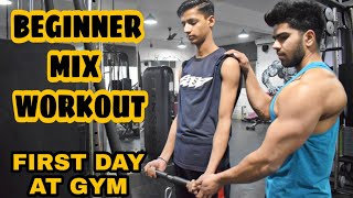 Download Mp3 First Day At Gym, Complete Guidance For Beginners|| Beginners Mix Workout