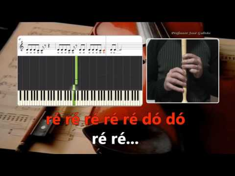Love me like you do Ellie Goulding CV Karaoke de notas para flauta Educação Musical José Galvão