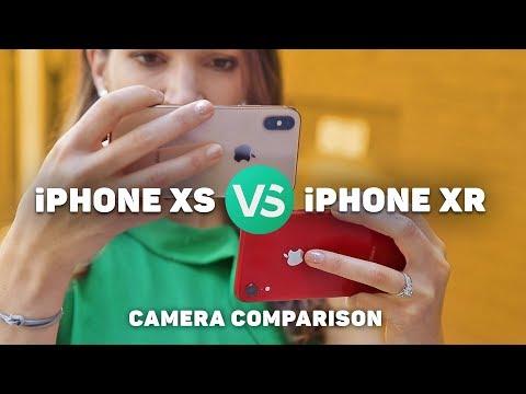 iPhone XR vs. iPhone XS camera comparison
