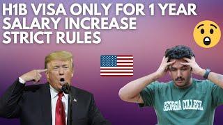 President TRUMP Makes H1B VISA SUPER HARD! New H1B VISA Rule Changes!