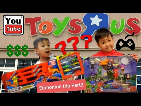Inside Of Toys R Us! (Unboxing And Playtime)Edmonton Part2 #toys Review #toysRus #thebclan