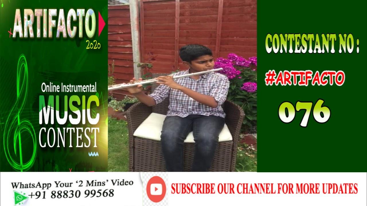 Online Instrumental Music Contest|ARTIFACTO 2020|#076 Adrian Benjamin|Rainham, U.K|Instrumental