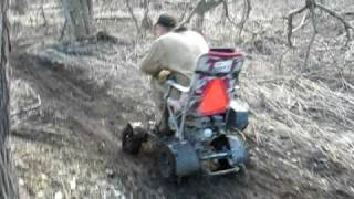 Awesome Wheelie Donut On Redneck Lawnchair