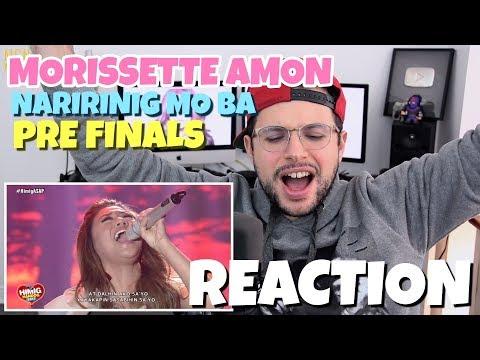 Morissette - Naririnig Mo Ba   Himig Handog 2017   Pre Finals   REACTION