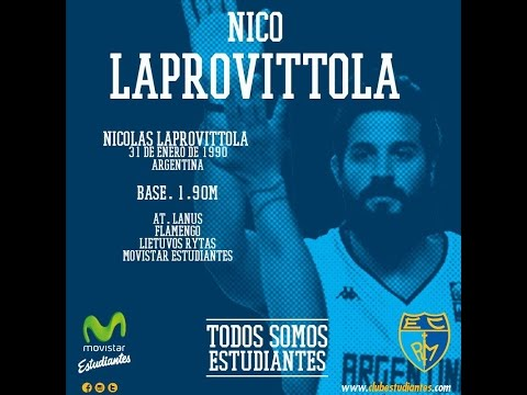 Así juega Nico Laprovittola. Highlights 2015.