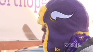Fewer tailgating spots available for Sunday's VIkings game