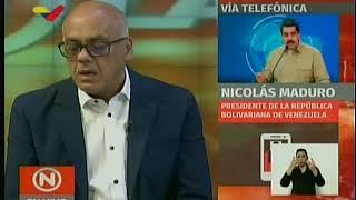 Despiste de Jorge Rodríguez dejó en evidencia que Maduro recibe cifras alteradas