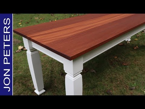 Build a Dining Table - Free Plans by Jon Peters