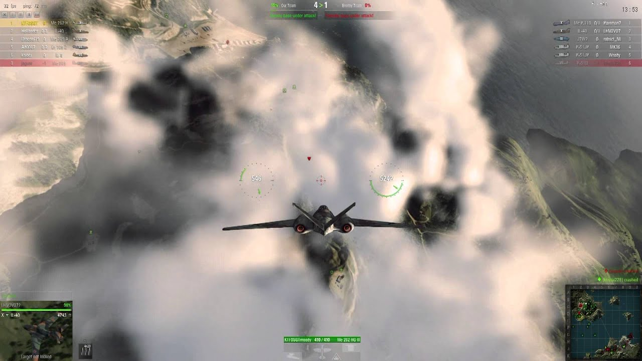 World Of War Planes Flying The Me 262 Hg Iii Tier 10