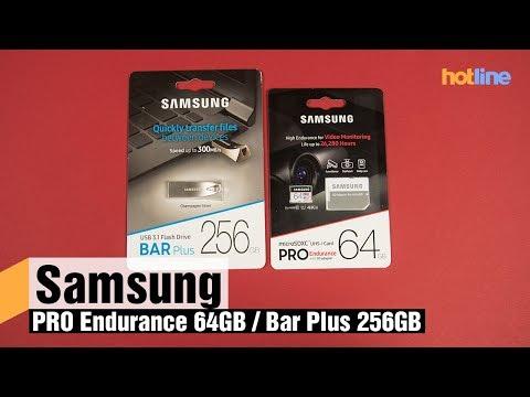 Знакомство с накопителями повышенной надежности от Samsung: PRO Endurance и Bar Plus