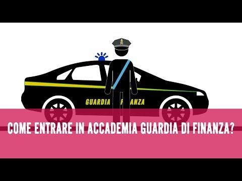 Come entrare nell'Accademia della Guardia di Finanza