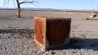 The Red Boxes at Salton Sea