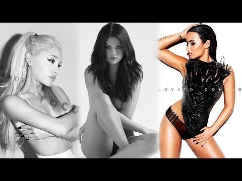 Ariana Grande, Selena Gomez & Demi Lovato Twitter Love Fest