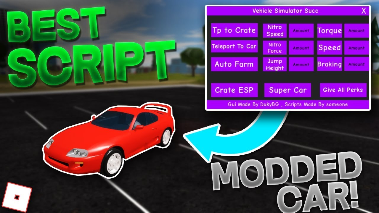 Roblox Vehicle Simulator Hack Download Get 500k Robux New Vehicle Simulator Script Super Car Crate Tp More Roblox Hack Exploit 2019 Youtube