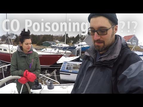 Carbon Monoxide Poisoning?? - DIY Sailboat Refit  [ Ep 12- Sailing Nova Scotia ⛵]