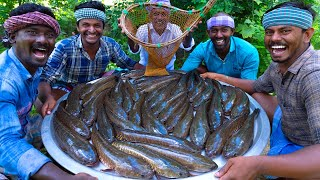 Download SNAKEHEAD MURREL FISH | Viral Meen | River Fish Fry Cooking  In Village | Village Fish Fry Recipe