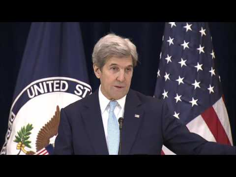 Secretary Kerry Comments on the Final Status Agreement