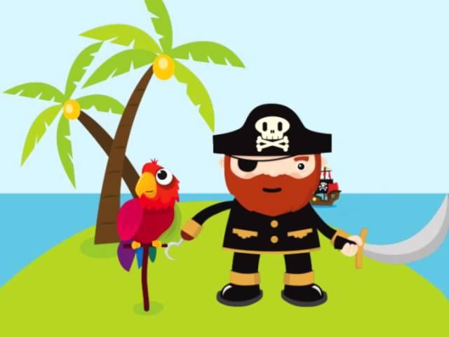 Открытка привет пираты, прикольные картинки