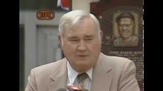 Johnny Mize 1981 Hall of Fame Induction Speech