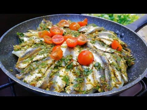 fish-healthy-recipe-without-oven-/-recette-de-poisson-facile-et-rapide-cuit-à-la-poêle-asmr