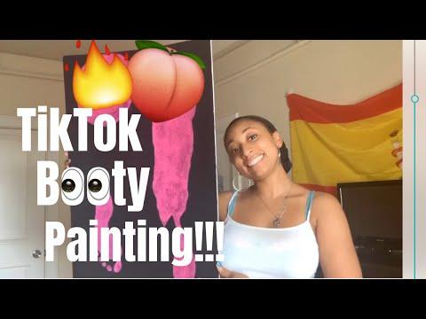 I Tried A Viral Tiktok Body Paint Trend Youtube