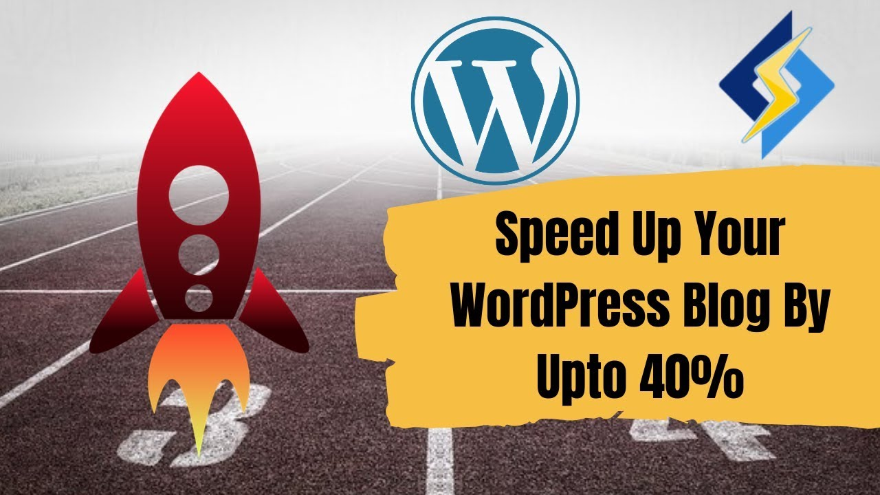 How to speed up your WordPress Blog by 40% - YouTube