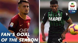 Fan's Goal of the Season | Group E | Serie A