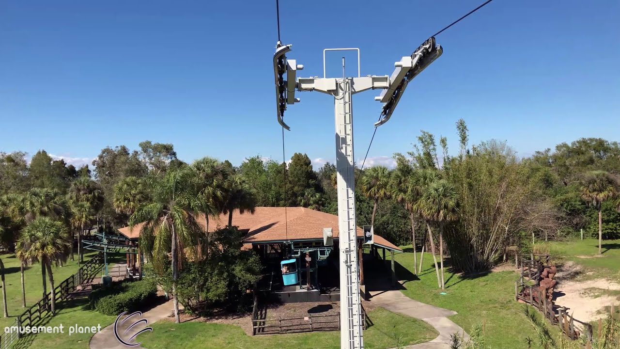 Skyride [Busch Gardens Tampa]    UHD 4K 60FPS