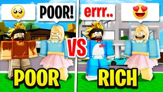 Pretending to Be POOR Then FLEXING PREMIUM on GOLD DIGGER In ROBLOX BROOKHAVEN RP!!